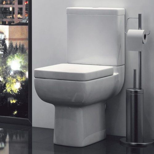 Options 600 Short Projection Close Coupled Toilet & Soft Close Seat